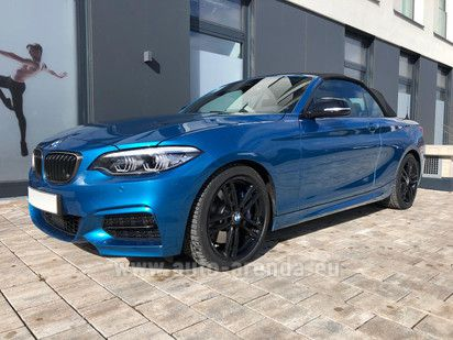 Buy BMW M240i Convertible in Monaco