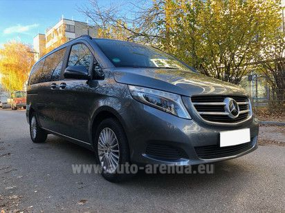 Купить Mercedes-Benz V-Class V 250 CDI Long в Монако