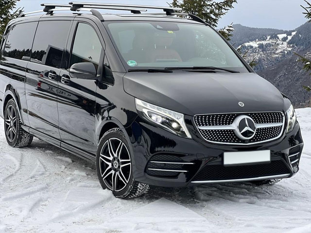 Booking and rental minivan, minibus, VAN 7-seats in Monaco