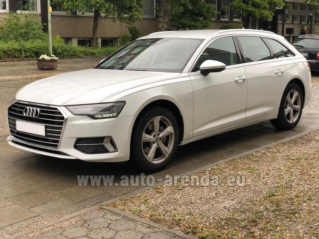 Rental Audi A6 40 TDI Quattro Estate in Monte Carlo