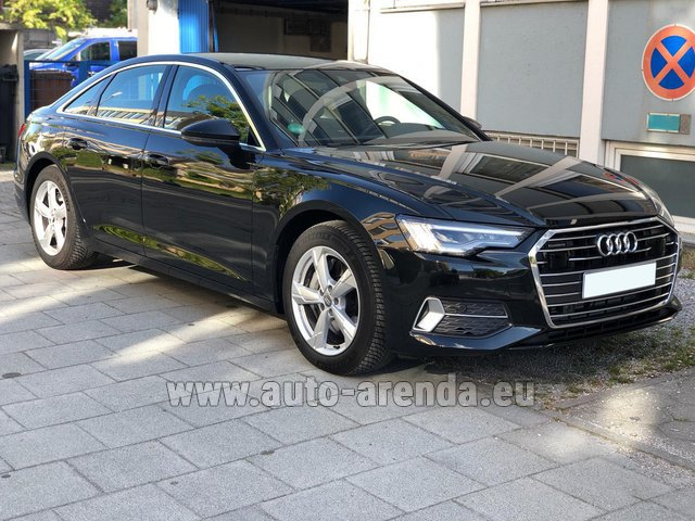 Rental Audi A6 45 TDI Quattro in Monaco City