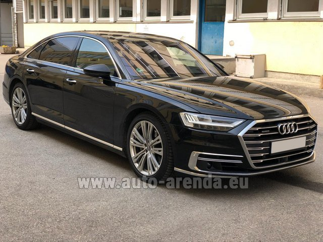 Прокат Ауди A8 Long 50 TDI Quattro в Фонвьей
