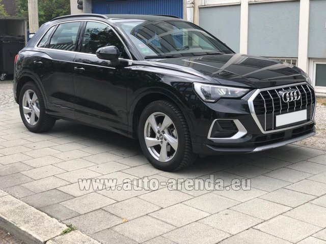 Rental Audi Q3 35 TFSI Quattro in Monaco City