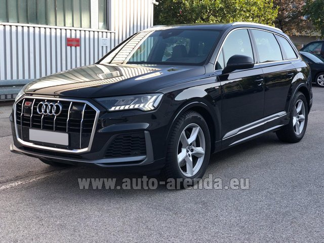 Прокат Ауди Q7 50 TDI Quattro Equipment S-Line (5 мест) в Монако