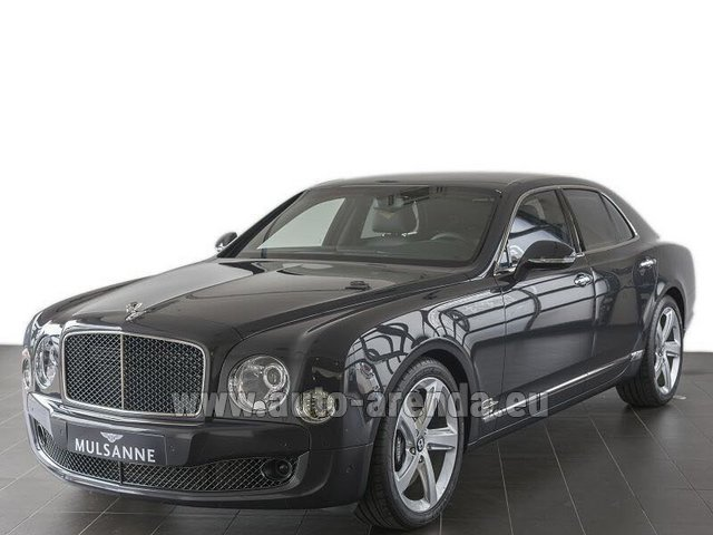 Rental Bentley Mulsanne Speed V12 in Fontvieille
