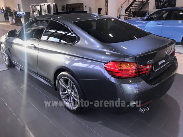 Rental BMW 420d xDrive Coupe M Sportpaket in Monaco City