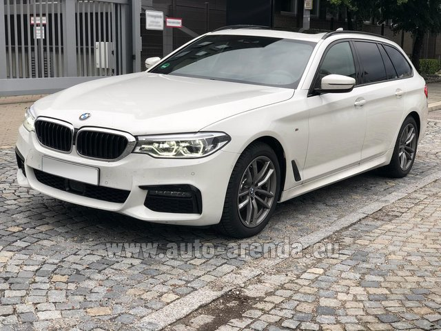 Rental BMW 520d xDrive Touring M equipment in Monaco