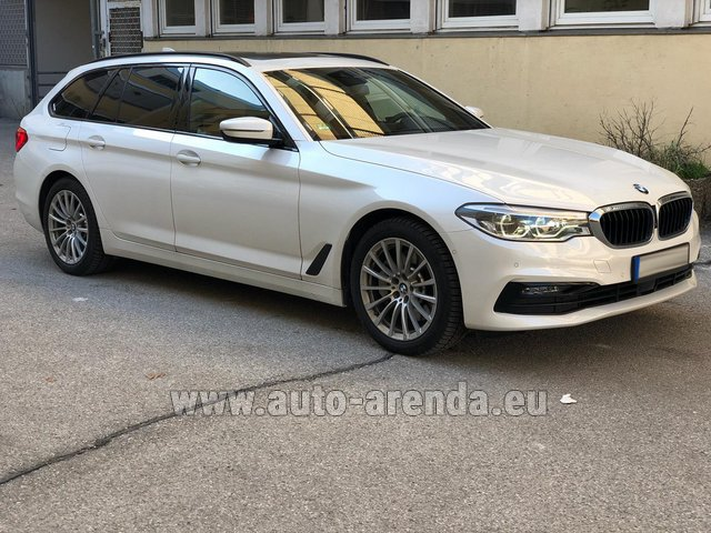 Rental BMW 5 Touring Equipment M Sportpaket in Monaco City