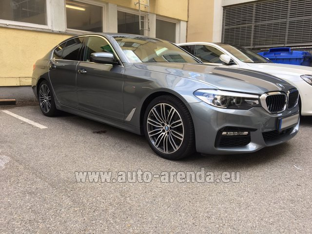 Rental BMW 540i M in Monte Carlo