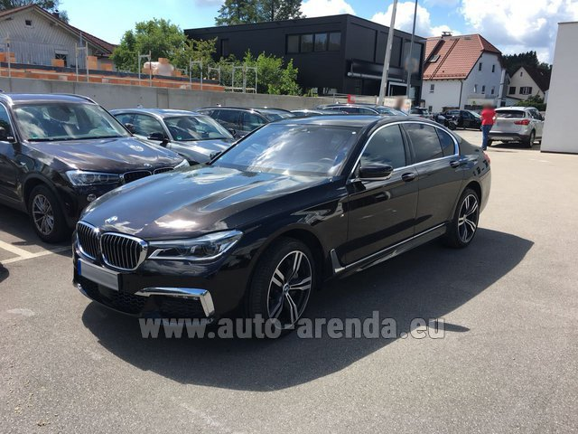 Rental BMW 750i XDrive M equipment in Fontvieille