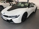 Rental in Monaco the car BMW i8 Roadster Cabrio First Edition 1 of 200 eDrive