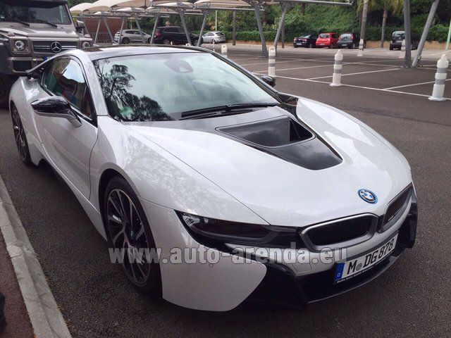 Rental BMW i8 Coupe Pure Impulse in Monaco-Ville