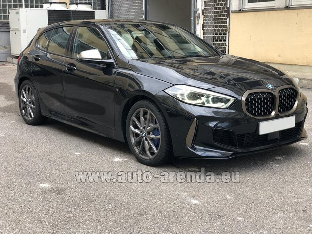 Hire and delivery to Cote D'azur International Airport the car BMW M135i XDrive