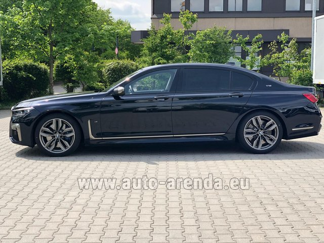 Rental BMW M760Li xDrive V12 in Monte Carlo
