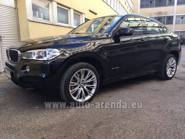 Rental BMW X6 3.0d xDrive High Executive M Sport in La Condamine