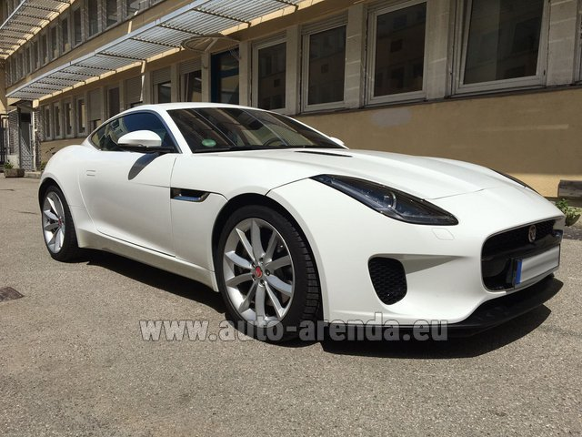 Rental Jaguar F-Type 3.0 Coupe in Monaco City