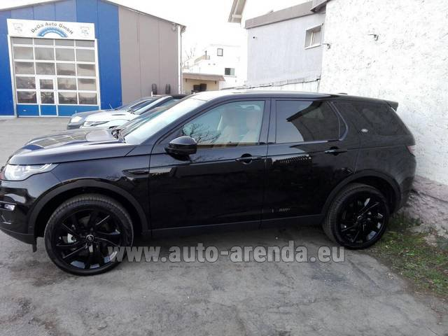 Rental Land Rover Discovery Sport HSE Luxury (5-7 Seats) in La Condamine