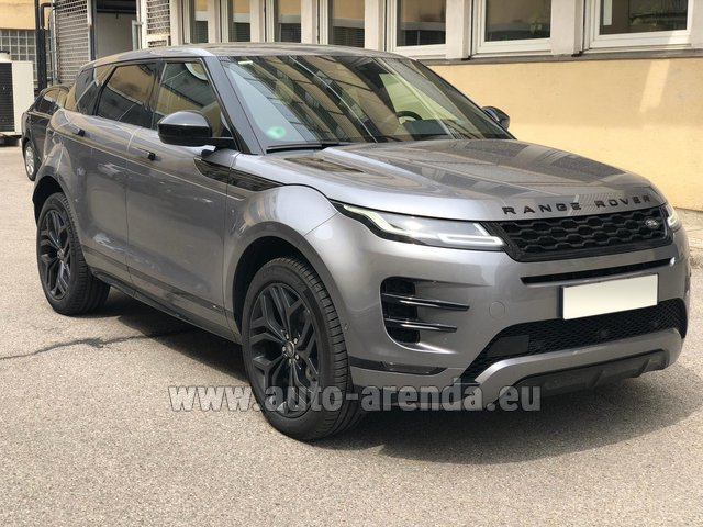 Rental Land Rover Range Rover Evoque D180SE in Monaco