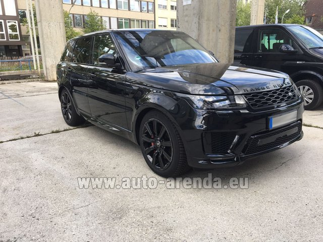 Rental Land Rover Range Rover SPORT in Monaco City