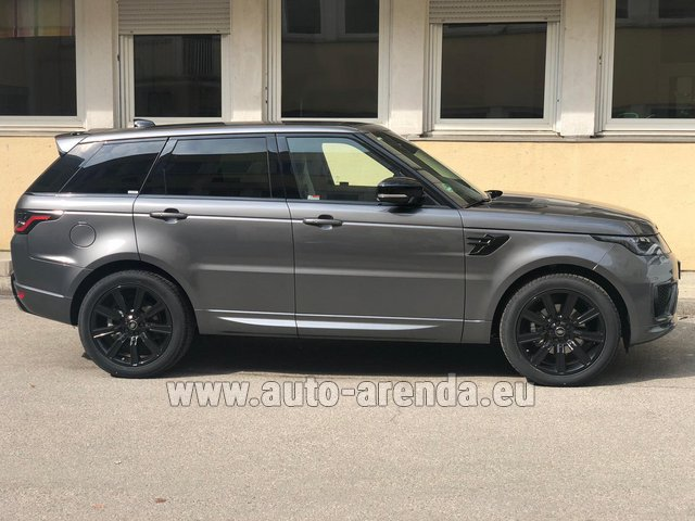 Hire and delivery to Cote D'azur International Airport the car Land Rover Range Rover Sport SDV6 Panorama 22