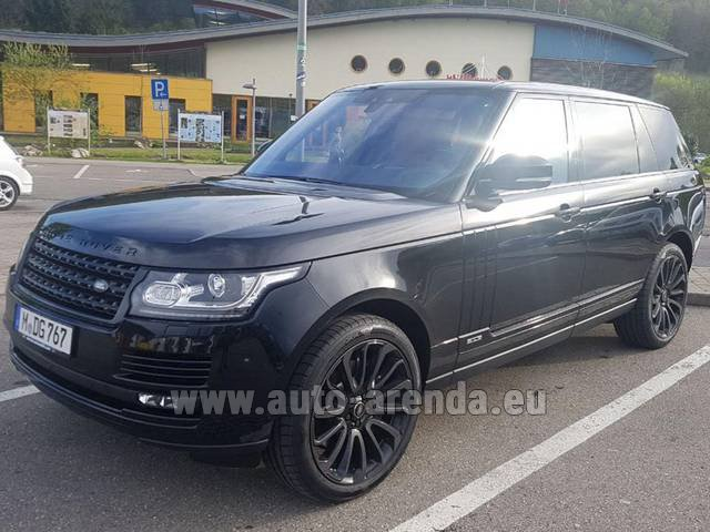 Rental Land Rover Range Super Charge 5.0L Long in Monte Carlo