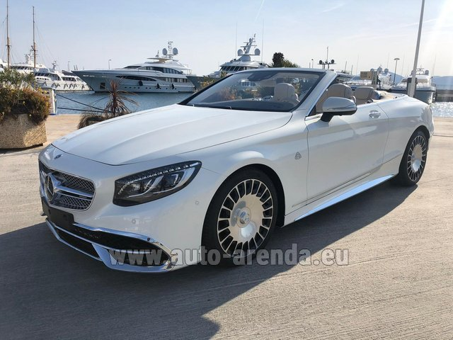 Прокат Maybach S 650 Cabriolet, 1 of 300 Limited Edition в Монте-Карло