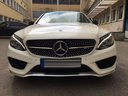 Rent-a-car Mercedes-Benz C-Class C43 AMG Biturbo 4MATIC White in La Condamine, photo 2