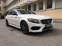 Rent-a-car Mercedes-Benz C-Class C43 AMG Biturbo 4MATIC White in La Condamine, photo 5