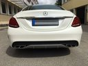 Rent-a-car Mercedes-Benz C-Class C43 AMG Biturbo 4MATIC White in La Condamine, photo 6