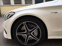Rent-a-car Mercedes-Benz C-Class C43 AMG Biturbo 4MATIC White in La Condamine, photo 11