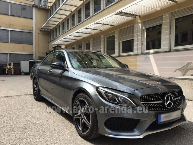 Rental Mercedes-Benz C-Class C43 AMG BITURBO 4Matic in Monte Carlo
