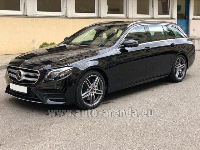 Rental Mercedes-Benz E 450 4MATIC T-Model AMG equipment in Monte Carlo