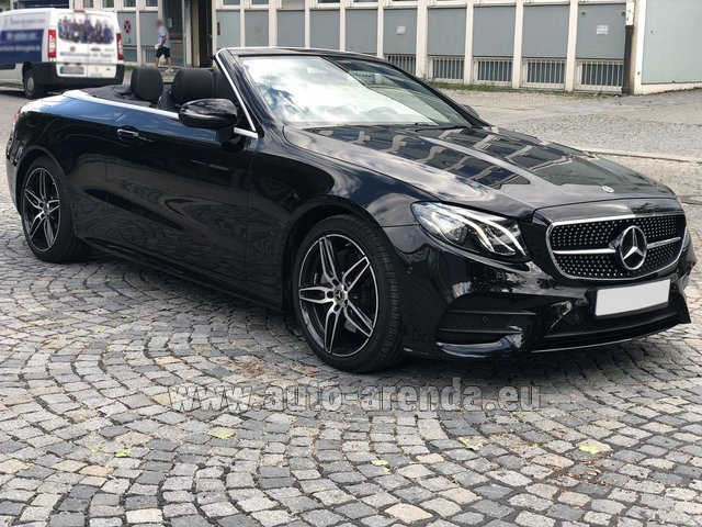 Rental Mercedes-Benz E-Class E200 Cabrio AMG equipment in Monaco