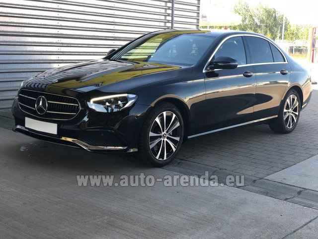 Rental Mercedes-Benz E220 diesel AMG equipment in Monaco