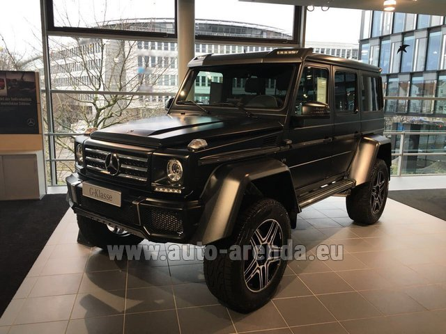 Rental Mercedes-Benz G-Class G 500 4x4² V8 in Monaco
