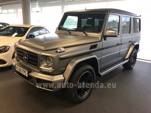 Rental Mercedes-Benz G-Class G 500 Limited Edition in Monaco