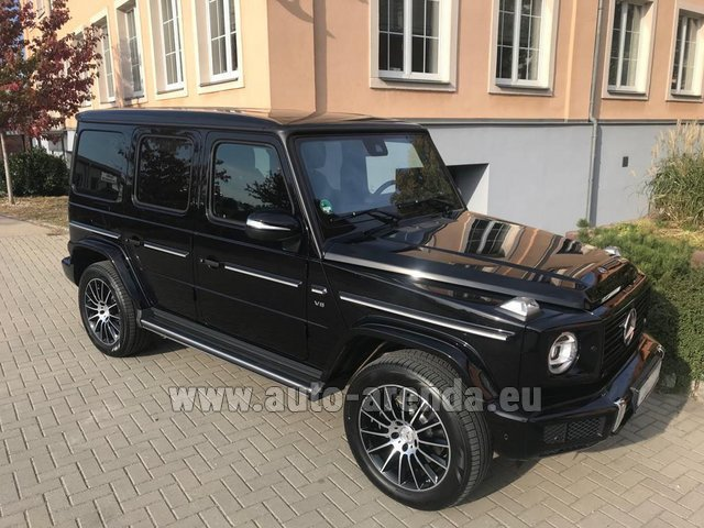 Rental Mercedes-Benz G-Class G500 2018 Exclusive Edition in La Condamine