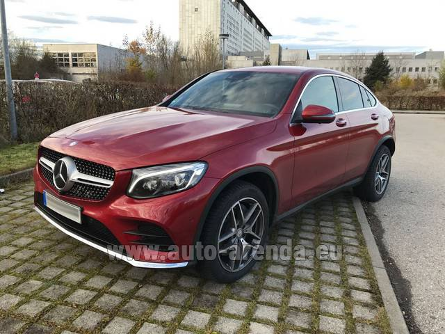 Rental Mercedes-Benz GLC Coupe in Fontvieille