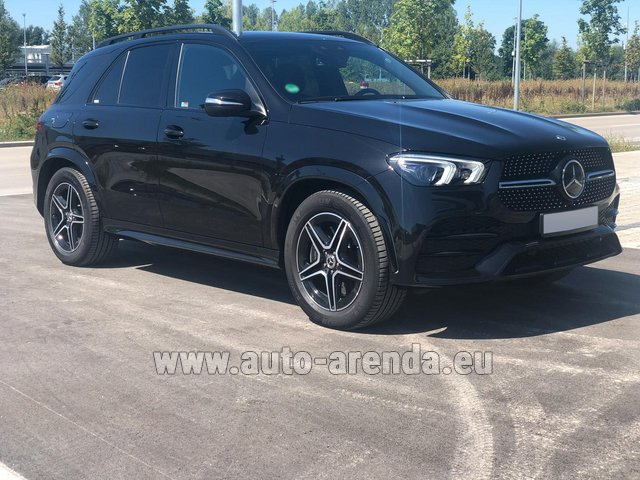 Прокат Мерседес-Бенц GLE 450 4MATIC AMG комплектация в Монако