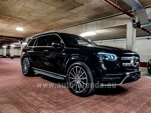 Прокат Мерседес-Бенц GLS 400d 4MATIC BlueTEC комплектация AMG в Монако