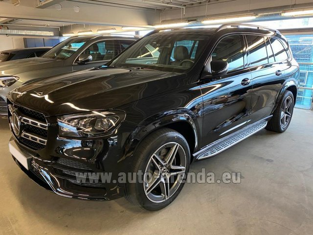 Прокат Мерседес-Бенц GLS 400d BlueTEC 4MATIC комплектация AMG в Монако