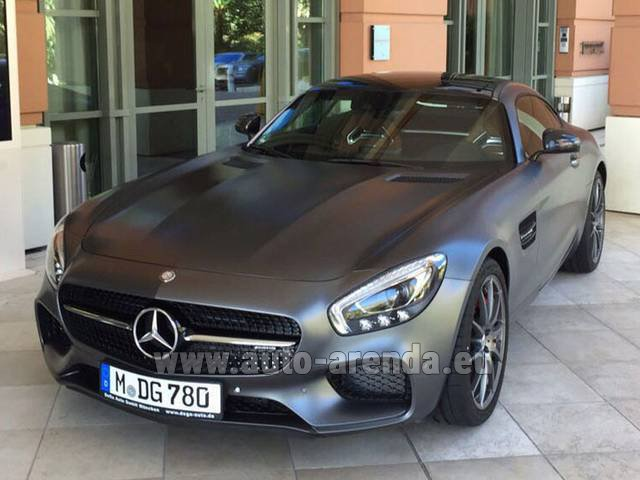 Rental Mercedes-Benz GT-S AMG in Monaco
