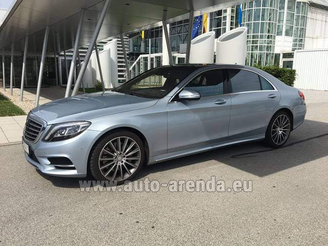 Rental Mercedes-Benz S 350 L BlueTEC 4MATIC AMG in Fontvieille