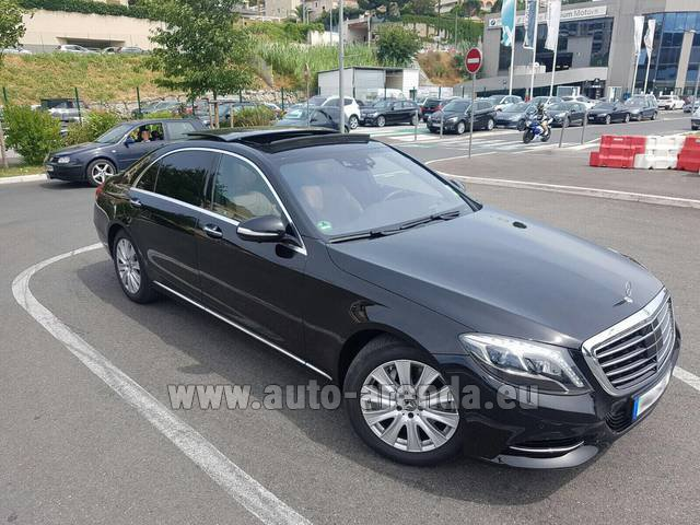 Rental Mercedes-Benz S 350 Long AMG in Fontvieille