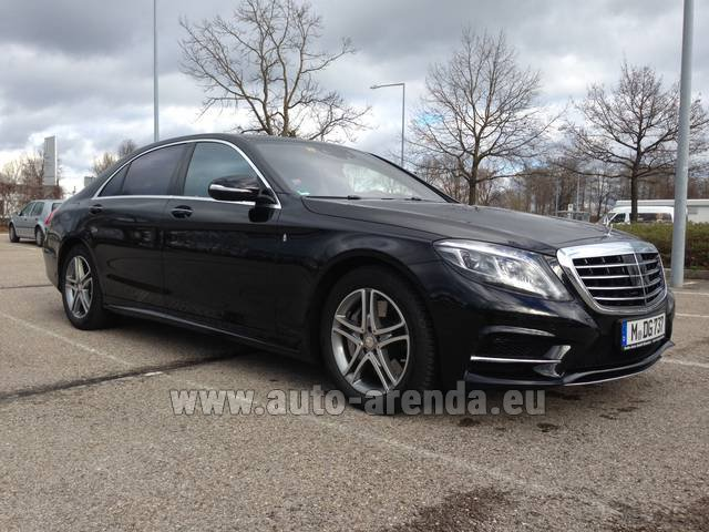 Rental Mercedes-Benz S 350 Long Diesel 4x4 AMG in Fontvieille