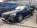 Rental in Monaco the car Mercedes-Benz S 63 AMG Cabriolet V8 BITURBO 4MATIC+