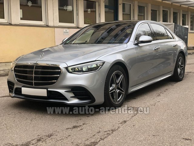 Rental Mercedes-Benz S-Class S 400 Long 4Matic Diesel AMG equipment in La Condamine
