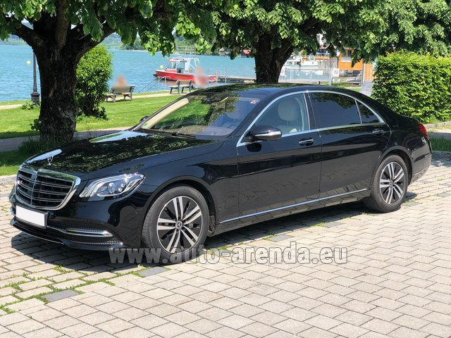 Rental Mercedes-Benz S-Class S400 Long 4Matic Diesel AMG equipment in Monte Carlo