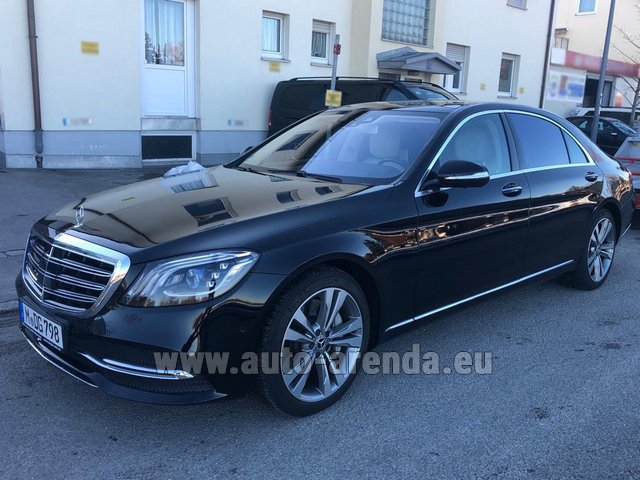 Rental Mercedes-Benz S-Class S400 Long Diesel 4Matic AMG equipment in Monaco