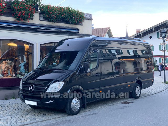 Rental Mercedes-Benz Sprinter 18 seats in Monaco City